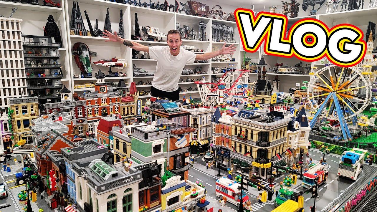Big LEGO Room Changes Happening Soon VLOG