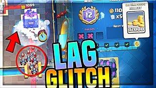 INSANE Glitch!! (12 WINS) Clash Royale Sudden Death Challenge