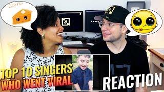 "Top 10 ""Singers whose videos went VIRAL"" (pt. 1) | REACTION"