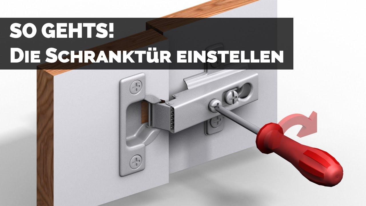 küchenschrank tür justieren | falttür küchenschrank einstellen