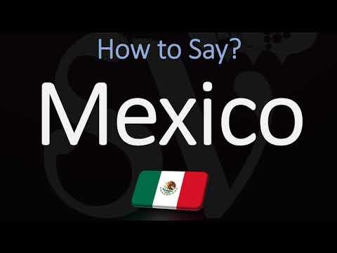 How to Pronounce Mexico? (CORRECTLY) Spanish & English Pronunciation