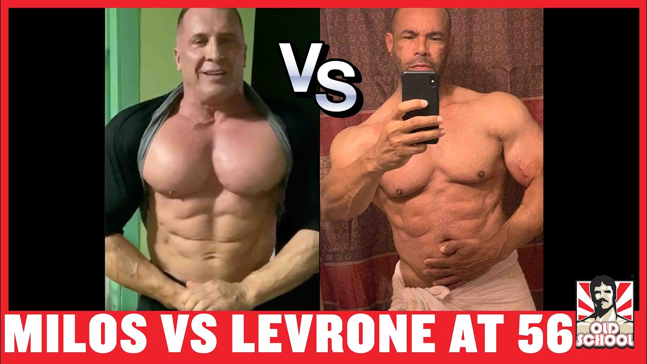 Milos Sarcev & Kevin Levrone at 56! (2020 Physique Update)