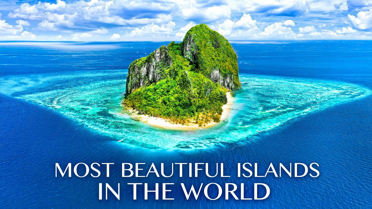 Download The MOST BEAUTIFUL ISLANDS in the WORLD 8K ULTRA HD - Ocean Sounds & Relaxing Music