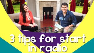 Radio Broadcasting: Tips on how to break into the radio industry – JessicaDominguezTV