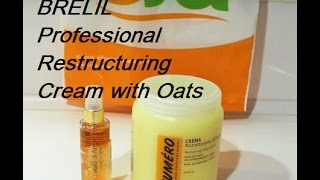 👉BRELIL PROFESSIONAL RESTRUCTURING CREAM WITH OATS