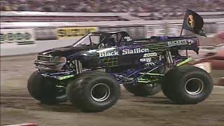 Freestyle Black Stallion Monster Jam World Finals 2001