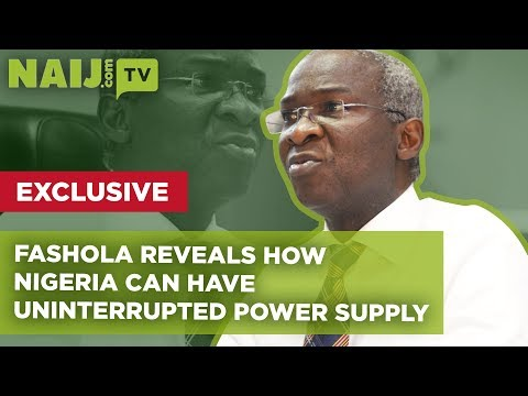Fashola EXCLUSIVE Interview: How Nigeria Can Have Uninterrup