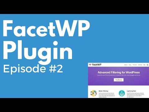 FacetWP WordPress plugin w/ Matt Gibs - PluggedIn Radio Episode #2