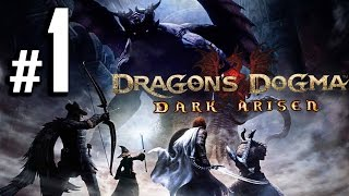 Dragon's Dogma: Dark Arisen HD Walkthrough - Intro - Part 1 [No Commentary]