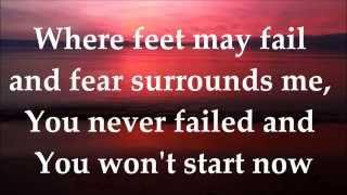 Baixar Where Feet May Fail (Oceans) - Hillsong United - LYRICS