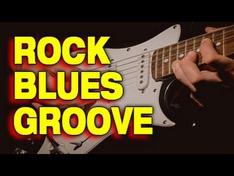 RHYTHM GUITAR: Rock Blues Groove (Riffs Lesson)
