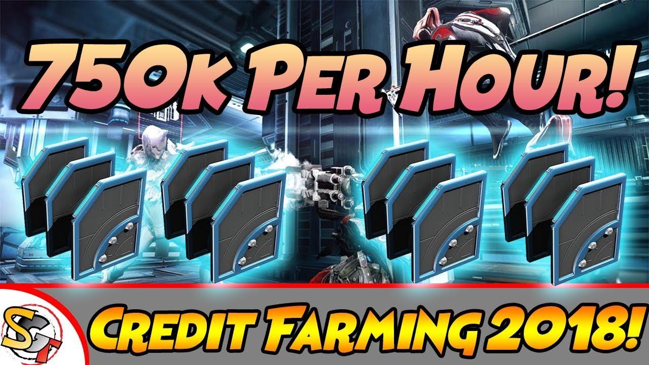 Warframe Best Credit Farming Guide 2018! (750k Credits Per ...