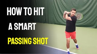 How to Hit a Tennis Passing Shot