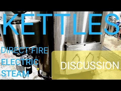 BEER KETTLES! Electric, Direct Fire, Steam MICROBREWERY EQUIPMENT!