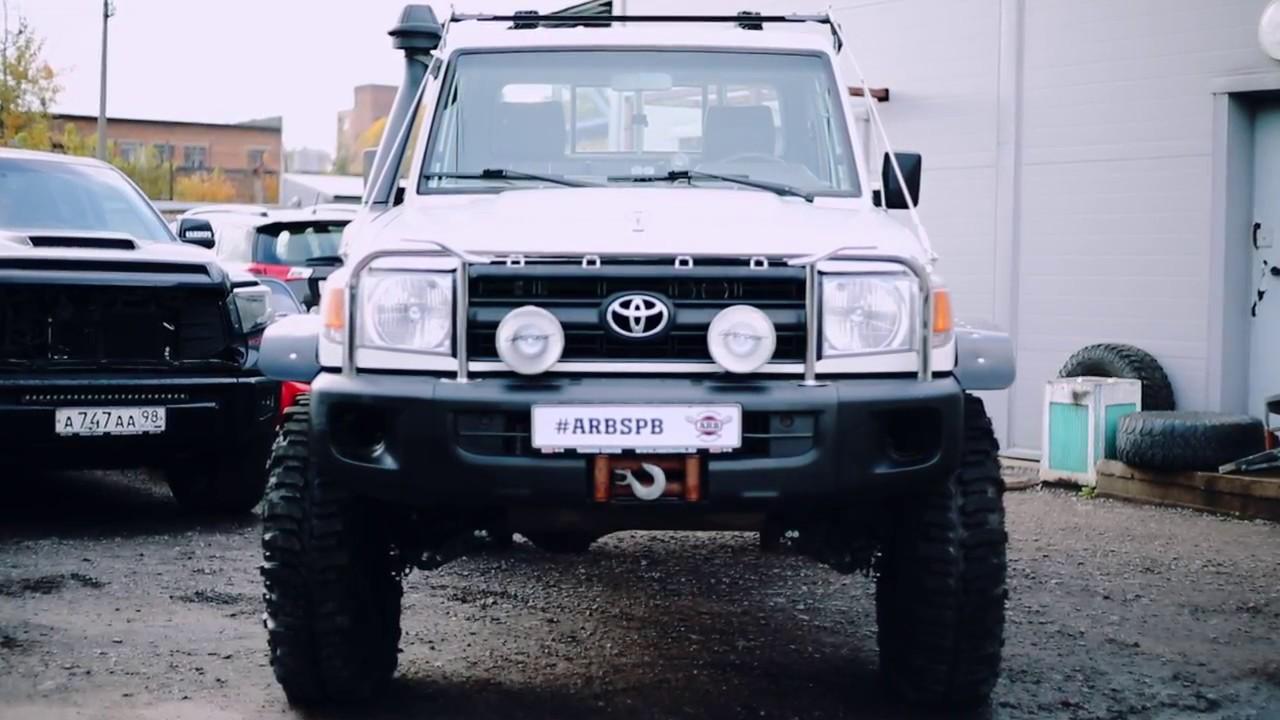 Toyota Land Cruiser 76 - YouTube