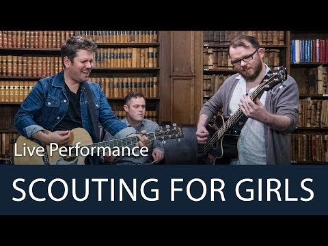 Scouting For Girls | 'She's So Lovely' Live Performance | Oxford Union