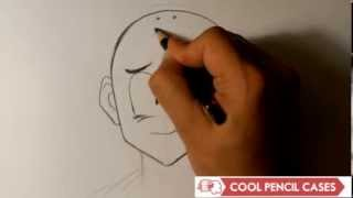 How to Draw Krillin from Dragonball Z- Easy Things to Draw