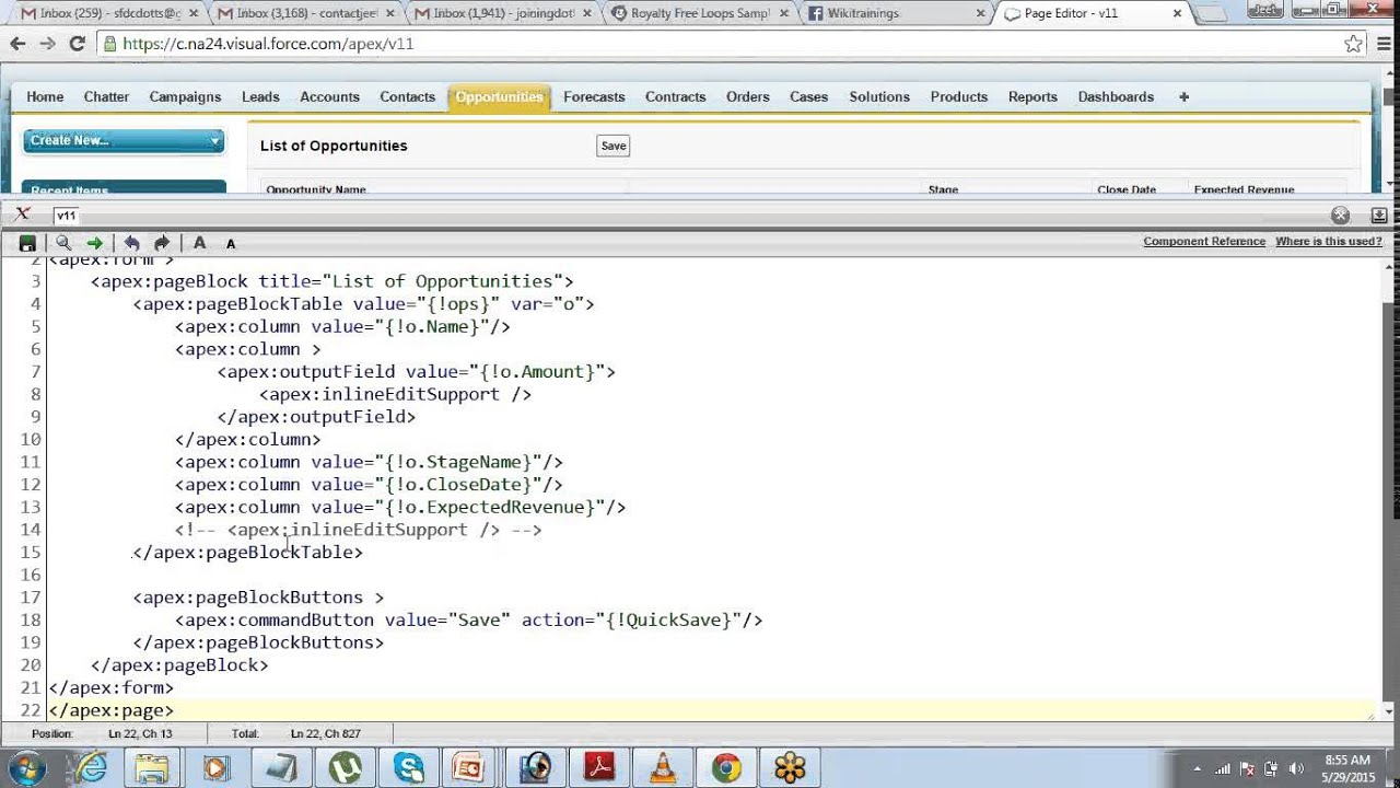 Working with Inline Edit Support | Passing Parameters in Visualforce Pages  | by Jeet Singh