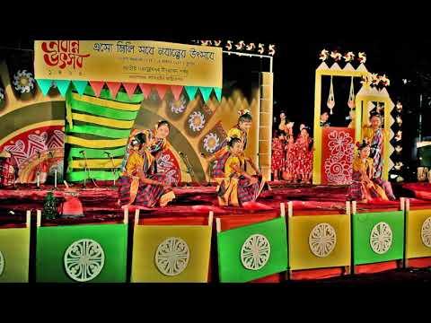 Bangla Folk Dance | Din jay din ase,Tero pabon baro mase | Kids Dance | Kids bangla folk dance