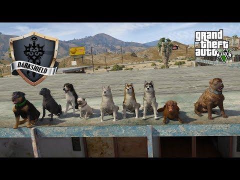 GTA 5 Roleplay  Darkshield  3 Who Let the Dogs Out?