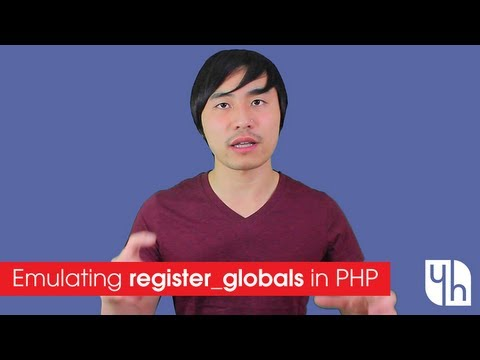 Emulating Register_Globals In PHP
