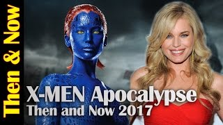 X-Men Apocalypse Then and Now 2017
