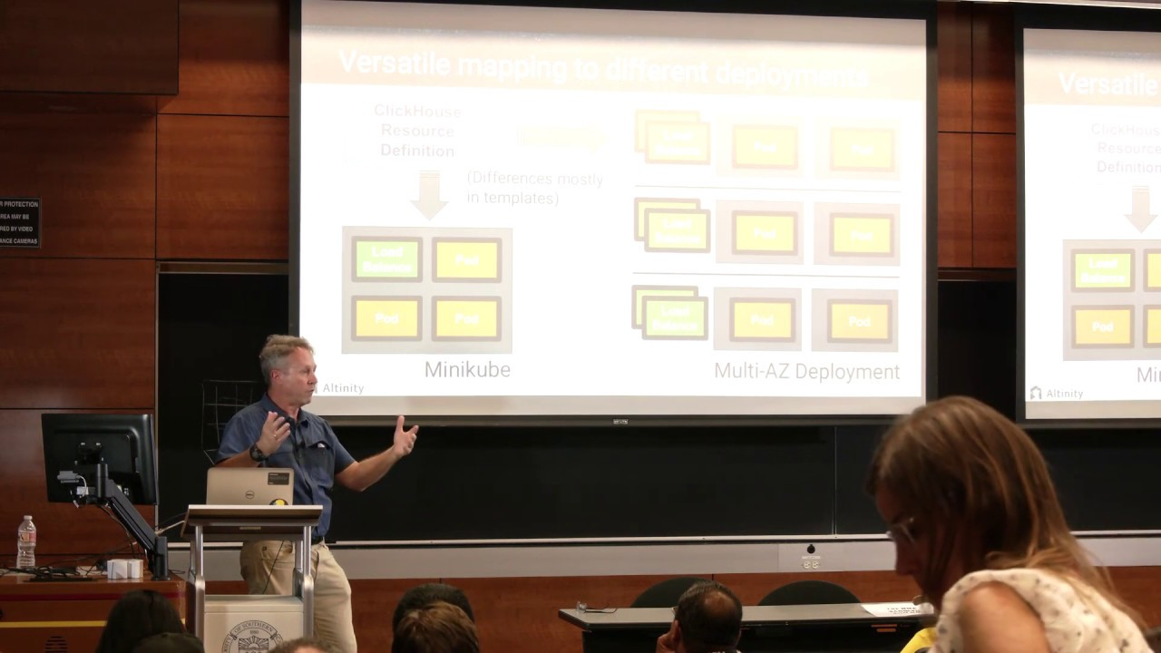 Data Con LA 2019 - Data warehouse and Kubernetes: Lessons from ClickHouse  Operator by Robert Hodges