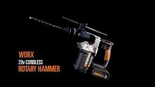 WORX WX392 20V ROTARY HAMMER - UK ENGLISH - www.worx.com