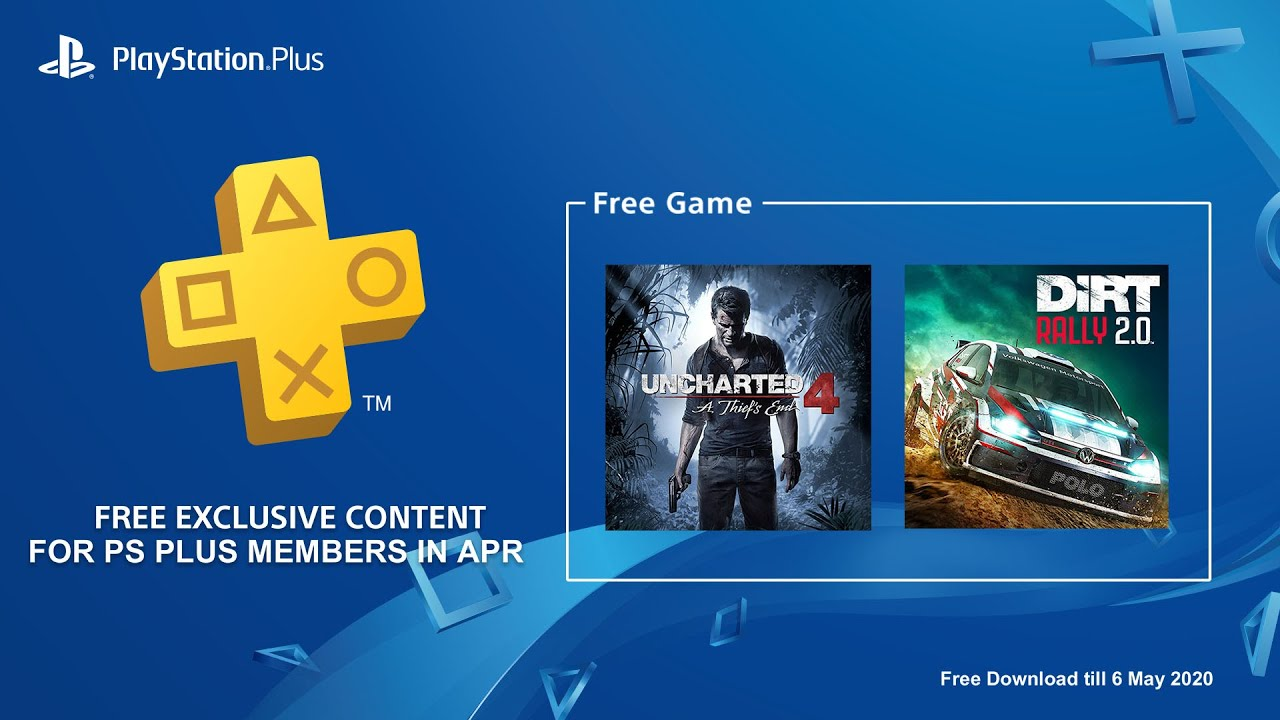 PS Plus FREE Games for April 2020 - YouTube