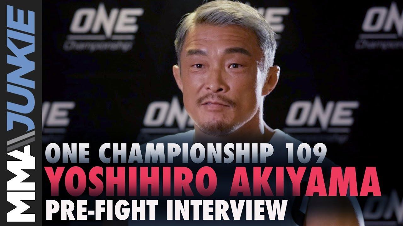 ONE Championship 109: Yoshihiro Akiyama pre-fight interview