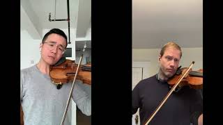 Concertmasters Jonathan Crow (TSO) & Andrew Wan (OSM) play together · Toronto Symphony Orchestra