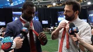 How to Tie a Tie with Mike Vick | NFL Rush