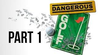 Dangerous Golf Gameplay Walkthrough Part 1 - GOLD & PLATINUM