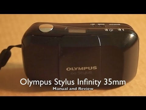 olympus stylus infinity 35mm video manual and review youtube rh youtube com olympus stylus epic dlx manual olympus stylus epic zoom 170 manual