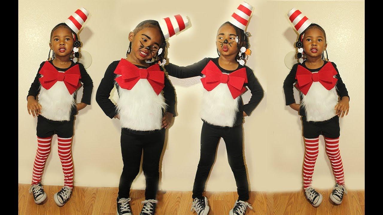Easy 5 diy cat n the hat costume tutorial youtube easy 5 diy cat n the hat costume tutorial solutioingenieria Gallery