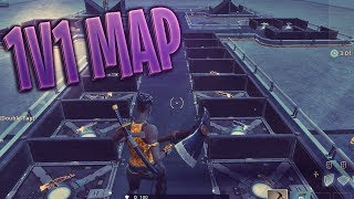 The Best Creative Mode 1v1 Map // Fortnite Battle Royale (no code yet) #FortniteBlockParty