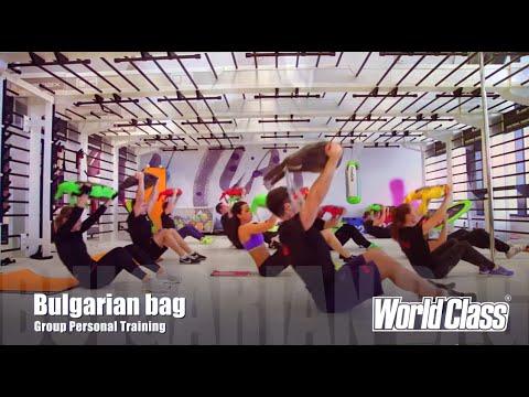 World Class Group Personal Training: BULGARIAN BAG