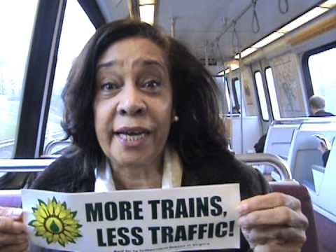 Jacklyn for Independent Green Party More Trains Less Traffic