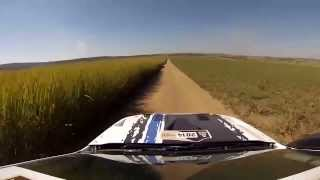 Ford Ranger Dakar 2014 ( ON BOARD ) .