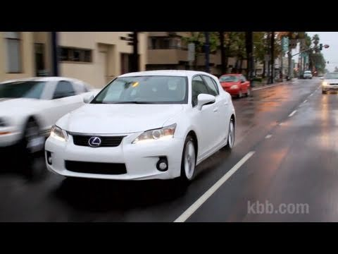 2012 lexus ct 200h review kelley blue book youtube. Black Bedroom Furniture Sets. Home Design Ideas