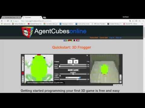 Tutorial para instalar aplicacion WebGL en Chrome para Agentcubes Online