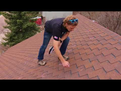 Roof Inspection for Hail Damage