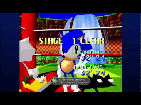 Sonic the Fighters (Xbox Live Arcade) Arcade as Sonic