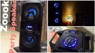 Zoook Rocker Thunder Plus 40 W Bluetooth Party Speaker | Review | Price