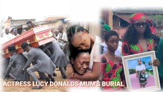 LUCY DONALDS MUM39S BURIAL Lucy DONALDS Mourns Her