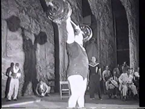 Paul Anderson: the strongest man in recorded history Part II