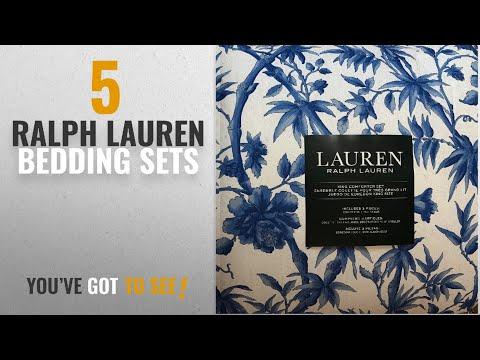 Top 10 Ralph Lauren Bedding Sets [2018]: Ralph Lauren 3 Piece Reversible King Comforter Set - Exotic