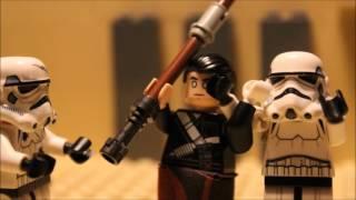 Lego Rogue one Chirrut Imwe Vs Stormtrooper