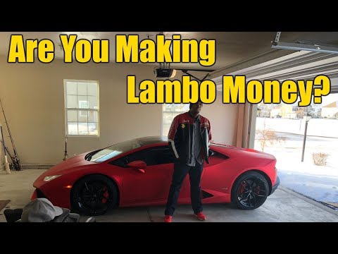 Before You Buy That Lamborghini...  7 Tips For When You Start Making REAL MONEY...