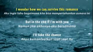 Right Here Waiting For You   With Lyrics Terjemahan